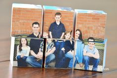 Love this!! Was going to make one last year but...maybe I'll get one done this year for my nephew with pics of some of his cousins on it. Photo Block Puzzle