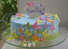 Borboletas <3 #bolocomborboletas #butterflycake