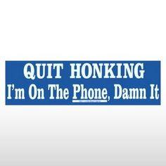 funny bumper sticker for a ride