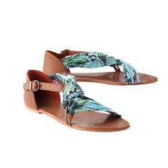 Desigual Wrapped & Ruched Sandals