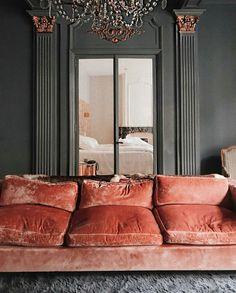 luxe sitting room