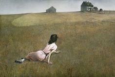 Andrew Wyeth, Christina's World , tempera, Museum of Modern Art . Andrew Wyeth is one of America's greatest Realist p. Jamie Wyeth, Tempera, Andrew Wyeth Paintings, Beaux Arts Paris, Grandma Moses, Kunst Online, Museum Of Modern Art, Pics Art, Art Pictures