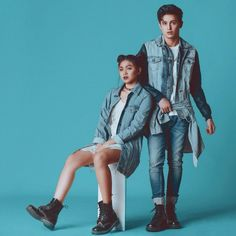 Nadine Lustre and James Reid Nadine Lustre Ootd, Nadine Lustre Outfits, Filipino Models, Filipino Girl, James Reid Wallpaper, Asian Celebrities, Celebs, Joanna Garcia, Mega Fashion