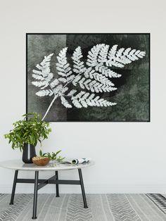 Akoestische paneel met botanische print Ferns, Abstract, Prints, Summary