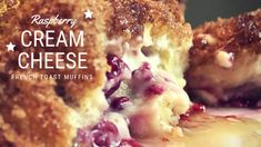 Raspberry Cream Cheese French Toast Muffins @thepincook.com French Toast Muffins, Raspberry, Cheese, Cream, Cooking, Breakfast, Blog, Recipes, Morning Coffee