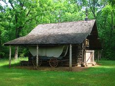Barn and Wagon by Spartanburg County Historical Association, via Flickr