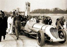 John Cobb with his Napier Railton - UK - 31 March 1934