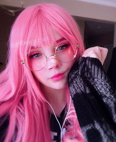 Kawaii Makeup, Cute Makeup, Makeup Looks, Hair Makeup, Emo Makeup, Asian Makeup, Korean Makeup, Aesthetic People, Aesthetic Hair