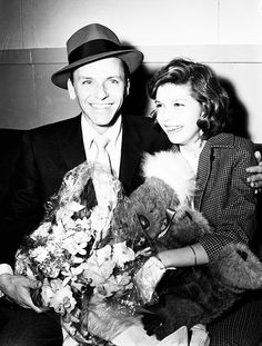 Frank Sinatra with daughter Nancy.
