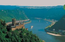 Germany - once had a lovely boat trip down the Rhine with a view of castles, small villages and vineyards - charming