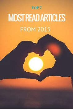 Top 7 most popular articles in 2015!
