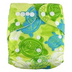"""AnAnBaby Pocket """"Green Turtles"""""""