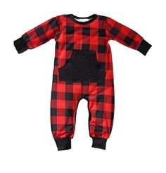 #plaid #jumper #baby How cute is this little plaid romper?  #funny #funnyshirt #tshirt #tshirtdesign #graphictee #gifts #giftidea #networking #sales #theblondebombshellboutique
