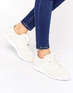 adidas Originals Cream And Sand La Sneakers