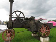 Lokomobiil / Portable engine - Minest Retked View Image, Cannon, Engineering, Landscapes, Industrial, River, Photos, Paisajes, Scenery