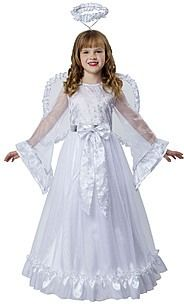 Totally Ghoul Angel Fairy Girls Halloween Costume #halloween