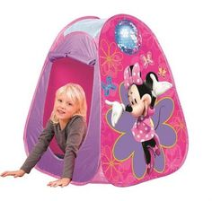 Film & Disney Characters Kids Childrens Disney Minnie Mouse Pop Up Play Tent Wendy House Indoor Outdoor Disney Films, Disney Characters, Pop Up Play, Wendy House, Wordpress Theme, Tweety, Indoor Outdoor, Baby Car Seats, Euro