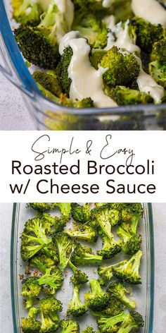 Roasted Broccoli with cheese sauce is a great easy and quick recipe idea for you who need a low-carbo side dish. Tender broccoli roast with creamy cheese sauce is a delish and simple veggie supper. Enjoy the burst of tasty protein! Cheese Sauce For Broccoli, Appetizer Recipes, Appetizers, Kids Cooking Recipes, Creamy Cheese, Quick Recipes, Original Recipe, Us Foods, Vegetable Recipes