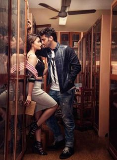 Arjun Kapoor and Alia Bhatt, the stars of 2 States, are featured on the cover of Filmfare for the month of April The 'HOT NEW ROMANCE' and chemistry between the on-screen couple is evident in the photo shoot too. Have a look! Wedding Couple Poses Photography, Couple Photoshoot Poses, Couple Posing, Bollywood Couples, Bollywood Celebrities, Bollywood Actress, Bollywood Fashion, Pre Wedding Poses, Pre Wedding Photoshoot