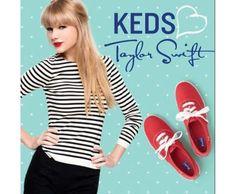 Taylor Swift Announces New Keds Line