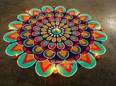 #colourful mandala