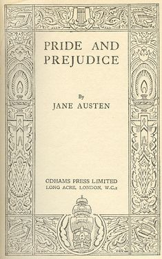 Just a Blog about Books: Pride and Prejudice