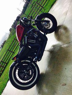 My new rig set up 48 bobber Harley Davidson Sportster forty eight sporty Custom Brat bob