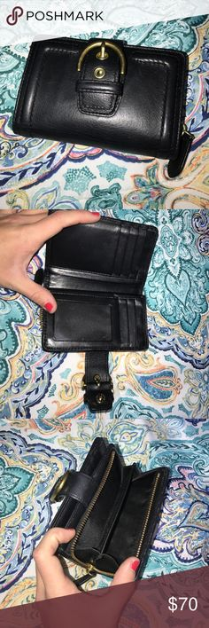 Never used coach wallet super cute Great condition got it as a gift and already had one! Coach Bags Wallets
