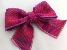 Hey, I found this really awesome Etsy listing at https://www.etsy.com/uk/listing/206970231/harris-tweed-bow-pin-brooch-wedding