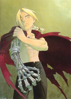 Hiromu Arakawa, BONES, Fullmetal Alchemist, Fullmetal Alchemist Art Book Vol. 2, Edward Elric