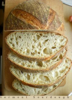 Vermont sourdough Pszenny zakwasowy z Vermont My Favorite Food, Favorite Recipes, My Favorite Things, Pan Bread, Vermont, Allrecipes, Baking, San Francisco, Breads