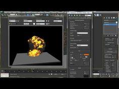 6 - Basic Explosion in FumeFX_Part-1 - YouTube