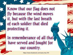 Take a moment today to honor and remember the fallen.