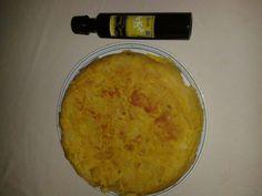 #Tortilla de #patatas con #aceite de #oliva de #extremadura, siempre natural!!!