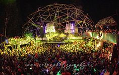 Shambhala Music Festival - Village Stage  A few of the most magical nights of my life happened here.