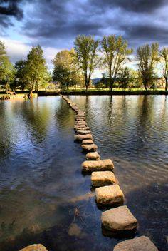 passo a passo caminho para outra margem...