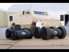 Mini UGV - NERVA LG Multi-Missions Robotic System