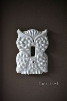 hey_its_kenz_13's save of Owl Switch Plate Cover on Wanelo