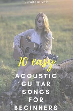10 Easy Acoustic Guitar Songs for Beginners, that You Can Play With the Basic Gu.- 10 Easy Acoustic Guitar Songs for Beginners, that You Can Play With the Basic Gu… 10 Easy Acoustic Guitar Songs for Beginners, that You… - Guitar Chords For Songs, Music Guitar, Playing Guitar, Guitar Tips, Learning Guitar, Easy Guitar Chords Songs, Guitar Songs For Beginners, Basic Guitar Lessons, Beginner Guitar Tabs