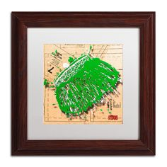 'Snap Purse Green' by Roderick Stevens Framed Photographic Print