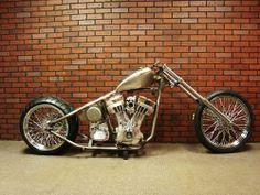 Dragster Rolling Chassis American Chopper Harley Bobber Old School Custom Bikes | eBay