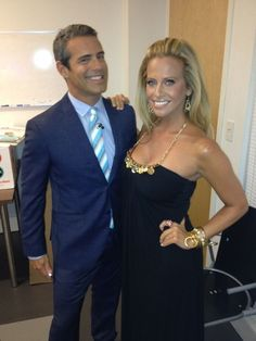 #AndyCohen & DinaManzo, they look so great together, pals forever? To see more  #RHNJ scoop, visit: www.facebook.com/therealhousewivesfanclub