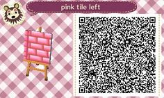 Pink brick path pc.#1 This path was all together in one solid square, I'm not sure I see corner pc.'s , inless it's just my crappy vision lol This looks to be the left side straight pc. But since there is a solid brick tile you can probably do it w/o corner pc.'s. If you should find that there actually is it be Awesome if you let me know & direct me to where Ty :) Enjoy <3