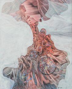 """Zaha - obraz oryginalny, dostępna tylko jedna sztuka. Autor: Maciej Durski Technika: olej Rok 2017 ENG """"Zaha"""" Original painting, only one piece available. Author: Maciej Durski Technique: oil Year 2017"""