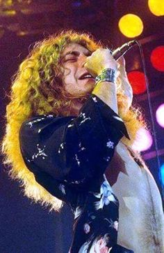 "callmethehunter: ""Robert Plant. 1975. "" The sheen of sweat …"