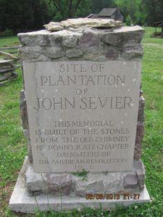 John Sevier Marble Springs Plantation Site