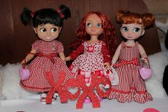 Boo, Merida and Anna | Disney Animators Collection