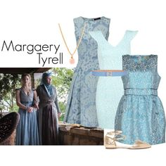 Margaery Tyrell by ansleyclaire on Polyvore featuring polyvore, fashion, style, Eyedoll, Joe Browns, Miss Selfridge, Forever 21 and Fendi