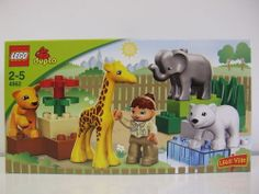 Lego duplo lego ville, baby zoo, 4962 - NEW | eBay