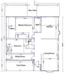 Floor Plan Dimensions Meters Floor Plan With Dimensions Architectural Floor Plans Floor Plan Design